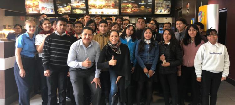 Recibimos la visita de 60 jóvenes de la Fundación Forge México