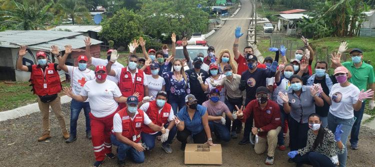 En Panamá, participamos del programa Cocinas Solidarias, para acompañar a los más necesitados