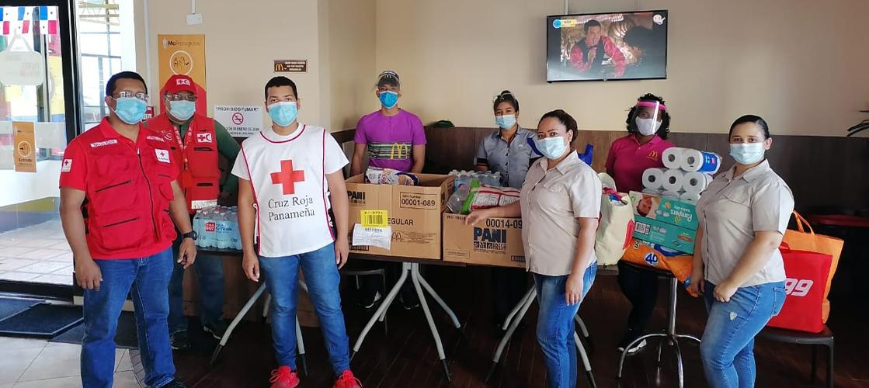 Acompañamos a las familias damnificadas por las inundaciones en  Panamá