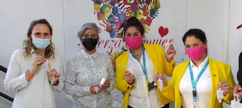 Donamos elementos de limpieza e higiene a un centro comunitario chileno