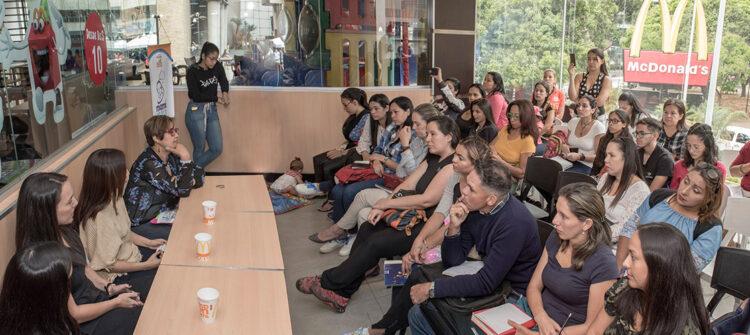 Iniciamos el 3° ciclo de charlas formativas para familias venezolanas