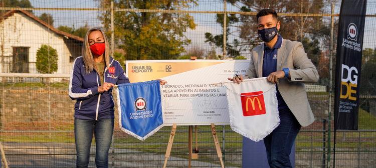 Apoyamos a los deportistas de la Universidad Andrés Bello con una nueva alianza