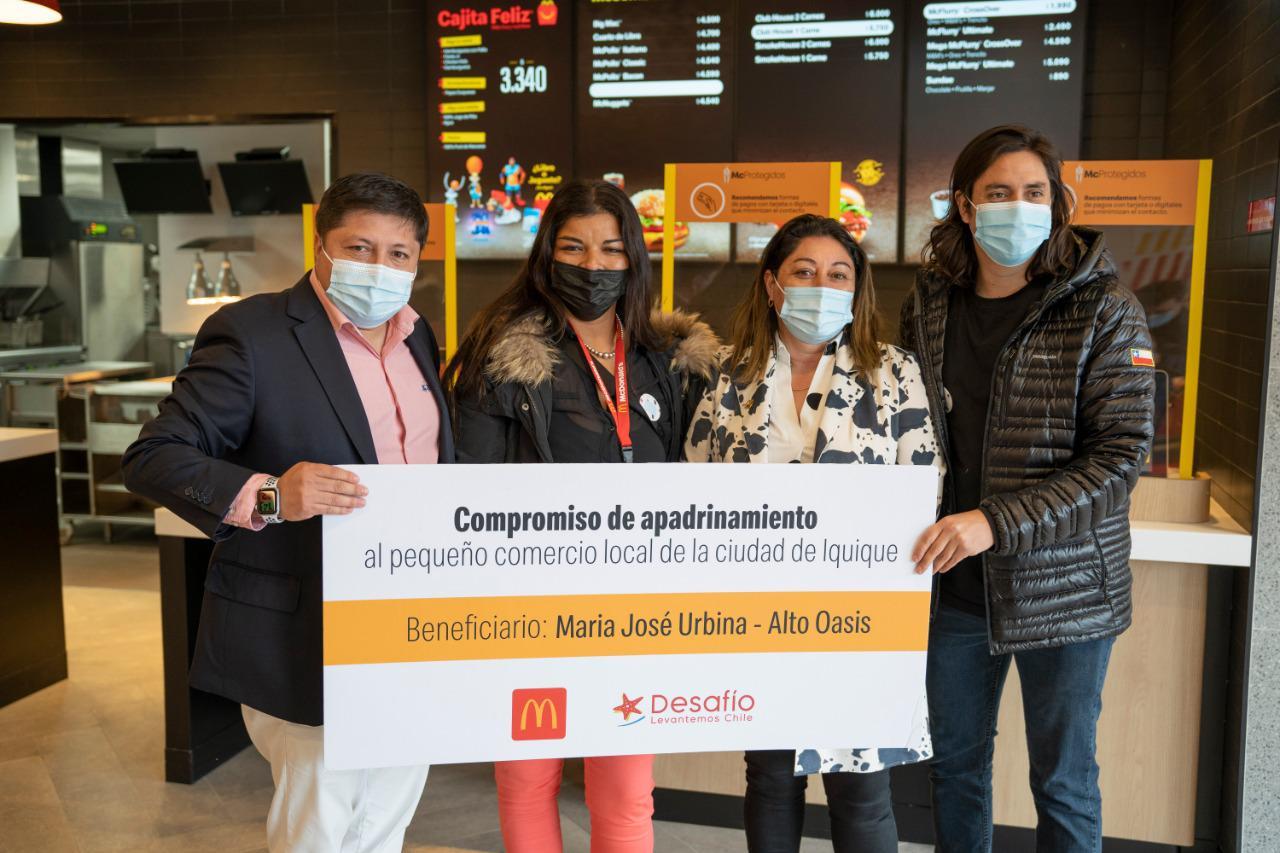 Apoyamos a pequeños empresarios gastronómicos en alianza con Desafío Levantemos Chile