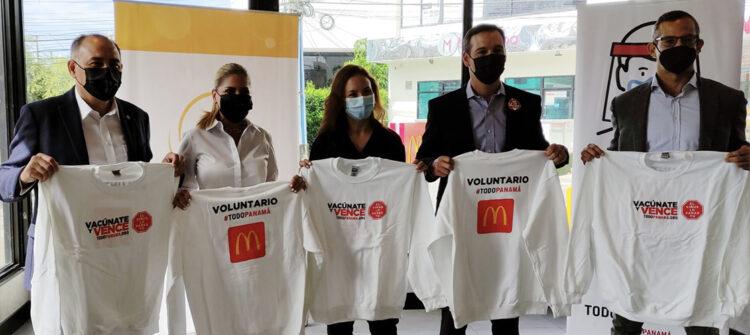 Apoyamos a los voluntarios de las jornadas de vacunación en Panamá
