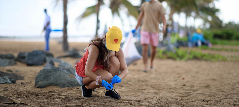 Participamos de la Limpieza Internacional de Costas en Puerto Rico